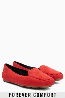 Forever Comfort Square Toe Slipper Shoes
