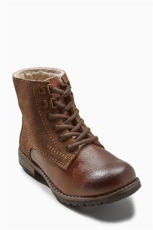 Deconstructed Work Boots (Older Boys)