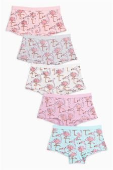 Flamingo Boxers Five Pack (3-16yrs)