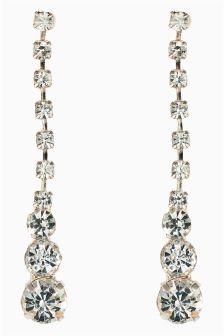 Jewelled Drop Earrings