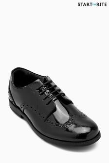 Czarne buty brogsy Start-Rite