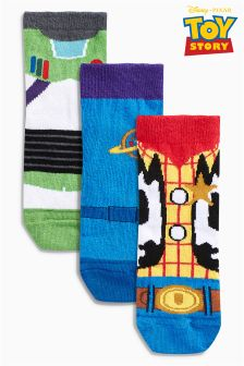 Toy Story Socks Three Pack (Younger Boys)