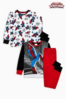 Spider-Man™ Snuggle Fit Pyjamas Two Pack (9mths-8yrs)