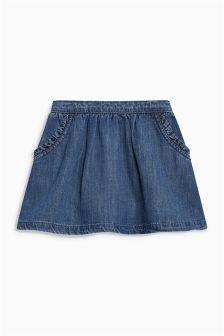 褶饰口袋半身裙 (3个月-6岁)