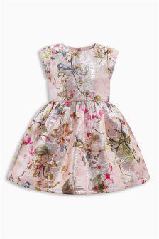 Floral Jacquard Prom Dress (3mths-6yrs)