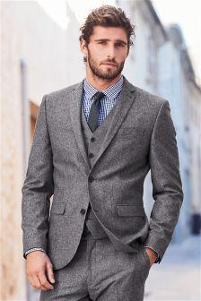 ネップ スーツ:ジャケット