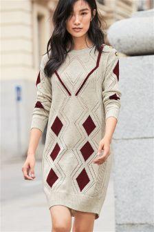 Argyle Pattern Tunic