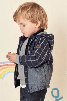 Grid Check Cagoule (3mths-6yrs)