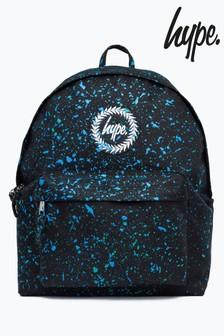 Hype Coloured Splatter Backpack