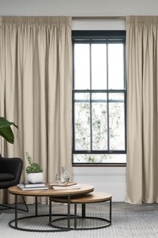 Cotton Multi Header Lined Curtains Studio Collection By Next