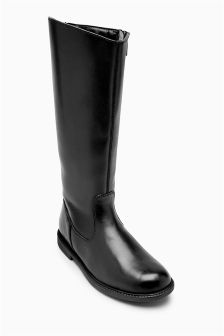 Tall Leather Boots (Older Girls)