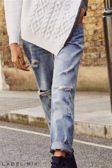 جينز برجل مستقيمة