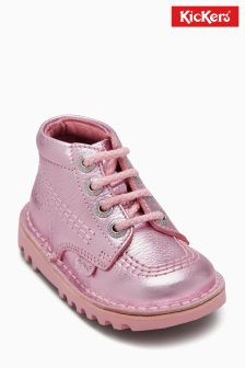 Kickers® Pink Print Kick Hi Boot