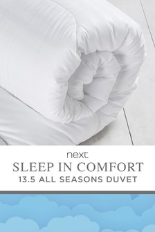 Sleep In Comfort 13.5 Tog  All Seasons Duvet