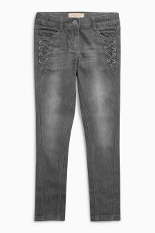 Lace Detail Skinny Jeans (3-16yrs)
