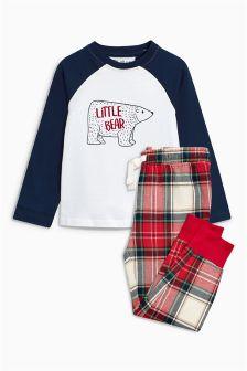Пижама с медвежонком для мальчиков (3-16 лет)