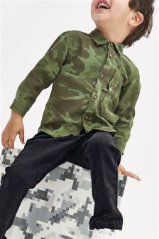 Camo Shirt (3mths-6yrs)