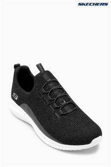 Skechers® Black High Ultra Flex Memory Foam Trainer