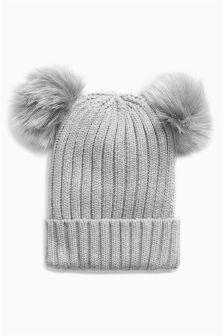 Double Pom Hat