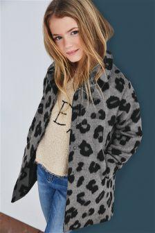 Leopard Print Jacket (3-16yrs)