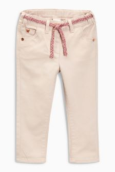 Belted Skinny Jeans (3mths-6yrs)
