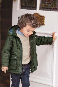 Coated Cotton Jacket (3mths-6yrs)