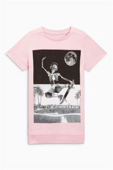 Skeleton Print T-Shirt (3-16yrs)