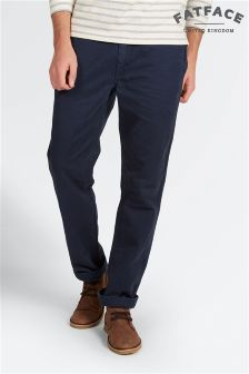 Fat Face Navy Modern Coastal Chino