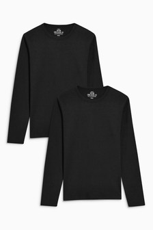 Long Sleeve T-Shirts Two Pack