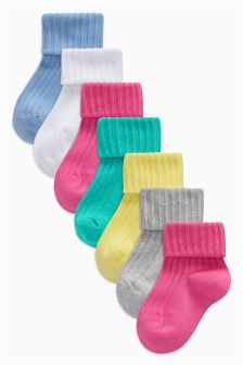 Socks Seven Pack (Younger Girls)
