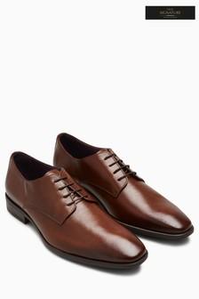 Фактурные туфли дерби из именной коллекции