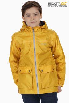 Nieprzemakalna, ocieplana kurtka Regatta Malham w złocistym kolorze