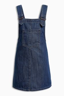 Denim Pinafore (3mths-5yrs)