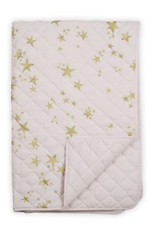 Metallic Stars Throw