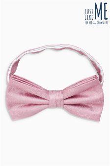 Silk Floral Bow Tie