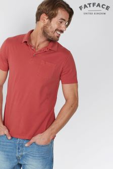 Fat Face Rosehip Single Jersey Polo