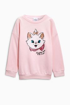 Aristocat Sequin Sweater (3-16yrs)