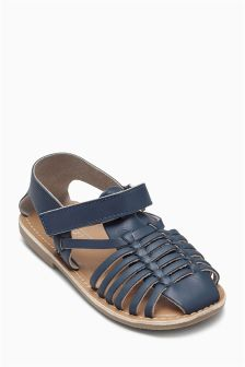 Leather Woven Sandals (Younger Boys)