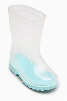 Clear Wellies (Younger Girls)