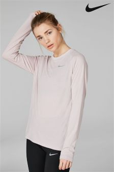 Nike Rose Breathe Tailwind Long Sleeve Tee