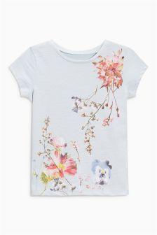 Floral Print T-Shirt (3mths-6yrs)
