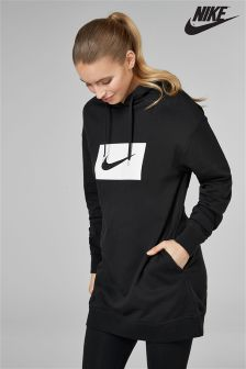 Nike Box Swoosh Longline Hoody