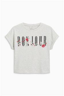 Slogan Short Sleeve T-Shirt (3-16yrs)