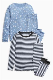 Snuggle Pyjamas Two Pack (3-16yrs)