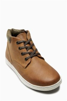 Leather Chukka Boots (Older Boys)
