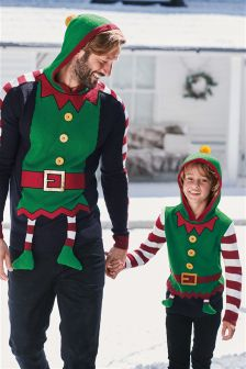 Christmas Elf Hoody (Mens)