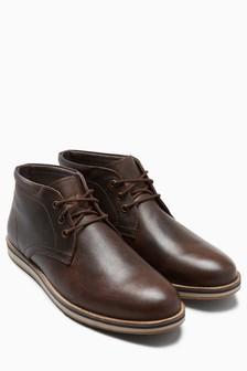 """Кожаные ботинки """"чакка"""""""