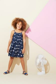 Printed Sun Dress (3-16yrs)