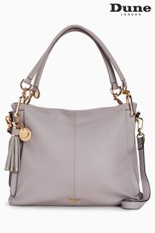 Dune Grey Disobelle D Ring Shoulder Bag