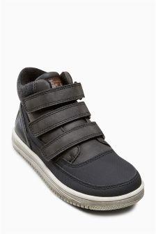 Triple Strap Boots (Older Boys)
